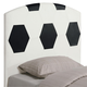 Coaster Youth Twin Sports Headboard Only in Soccerball Design 460168