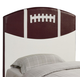 Coaster Youth Twin Sports Headboard Only in Football Design 460169