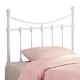 Coaster Youth Twin Headboard Only in White Metal 450101T