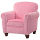 Coaster Youth Upholstered Accent Chair in Pink 460405