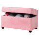 Coaster Youth Upholstered Storage Bench in Pink 460451