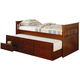 Coaster La Salle Twin Captain's Bed w/ Trundle and Storage Drawers in Cherry 300105
