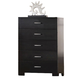 Acme London Chest in Black 20066