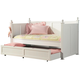 Coaster Classic Twin Daybed with Trundle in White 300026