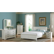 Homelegance Marianne Sleigh Bedroom Set in White