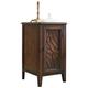 Hooker Furniture Bordeaux Chairside Chest in Dark Wood 500-50-820