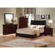 Acme Ridge Panel Bedroom Set in Black