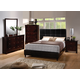 Acme Ridge Panel Bedroom Set 2 in Black