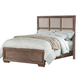 Acme Equinox California King Panel Bed in Distressed Ash 20174CK