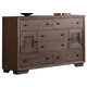 Acme Equinox 6-Drawer Dresser in Distressed Ash 20195