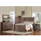 Acme Equinox Poster Bedroom Set in Distressed Ash