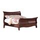 Acme Verona California King Sleigh Bed in Dark Cherry 20204CK