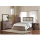 Acme Equinox Panel Bedroom Set in Distressed Ash