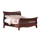 Acme Verona Eastern King Sleigh Bed in Dark Cherry 20207EK