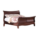 Acme Verona Queen Sleigh Bed in Dark Cherry 20210Q