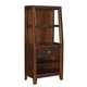 American Drew Tribecca Bookcase Nightstand in Brown 912-402