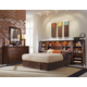 American Drew Tribecca Bookcase Bedroom Set