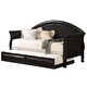 Coaster Twin Daybed w/ Trundle in Rich Black 300114/300110