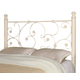 Coaster Full/Queen Metal Headboard Only with Elegant Vine Pattern 300185QF