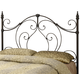 Coaster Full/Queen Metal Headboard Only in Black 300189QF