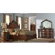 Homelegance Montvail Masion Bedroom Set in Rich Warm Cherry
