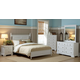Homelegance Morelle Poster Bedroom Set in White