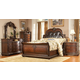 Homelegance Palace Sleigh Bedroom Set in Rich Brown
