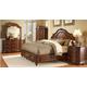 Homelegance Prenzo Mansion Bedroom Set in Warm Brown