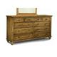 Durham Furniture Hudson Falls Triple Dresser in Aged Wheat 111-173