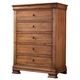 Durham Furniture Vineyard Creek 6 Drawer Chest in Aged Wheat 112-156