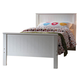 Acme Bungalow Full Panel Bed in White 30020F