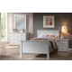 Acme Bungalow Panel Bedroom Set in White