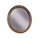 Durham Furniture Vineyard Creek Round Mirror in Aged Wheat 112-180