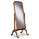 Durham Furniture Vineyard Creek Cheval Mirror in Aged Wheat 112-195