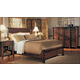 Durham Furniture Mount Vernon Architect 4-piece Sleigh Bedroom Set w/ Low Footboard in Vernon