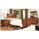 Durham Furniture Mount Vernon Architect 4-piece Mansion Bedroom Set in Vernon