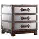 Hooker Furniture Melange Bondurant Accent Chest in Faux Zinc 638-50025