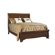 Durham Furniture Mount Vernon Queen Sleigh Bed w/ Low Footboard in Cunningham 501-128B