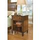 Durham Furniture Mount Vernon Open Nightstand in Cunningham 501-201