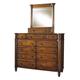 Durham Furniture Mount Vernon Dressing Mirror in Cunningham 501-189