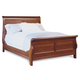 Durham Furniture Chateau Fontaine Queen Sleigh Bed in Candlelight 975-128