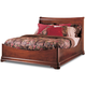 Durham Furniture Chateau Fontaine Queen Euro Bed in Candlelight 975-132