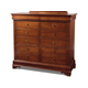 Durham Furniture Chateau Fontaine Dressing Chest in Candlelight 975-171