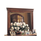 Durham Furniture Chateau Fontaine Landscape Mirror in Candlelight 975-182