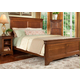 Durham Furniture Chateau Fontaine 4-piece Panel Bedroom Set in Candlelight