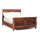 Durham Furniture Savile Row Queen Sleigh Bed in Victorian Mahogany 980-127-VICM
