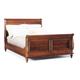 Durham Furniture Savile Row Cal King Sleigh Bed in Victorian Mahogany 980-147CK-VICM