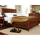 Durham Furniture Savile Row Cal King Sleigh Bed w/ Low Footboard in Victorian Mahogany 980-147BCK-VICM