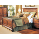 Durham Furniture Savile Row Queen Panel Bed in Victorian Mahogany 980-134-VICM