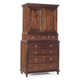 Durham Furniture Savile Row Door Deck & Junior Chest in Victorian Mahogany 980-165-VICM